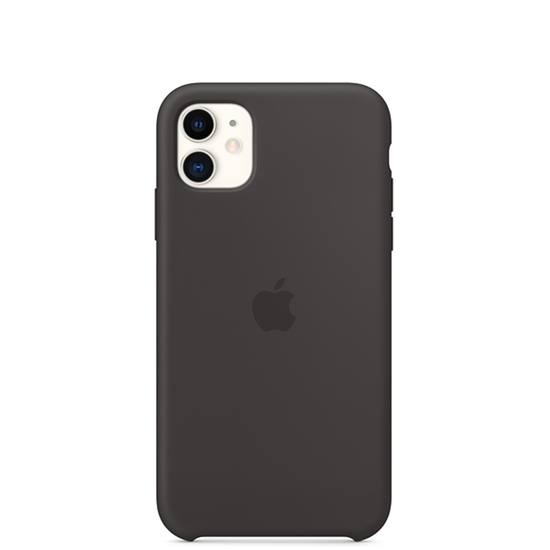 Picture of iPhone 11 Silicone Case Black