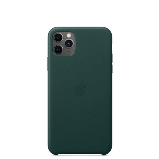 Picture of iPhone 11 Pro Max Leather Case Forest Green